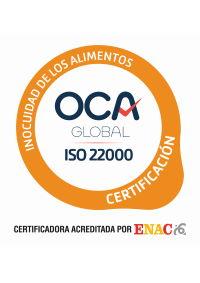 Certificat ISO 22000